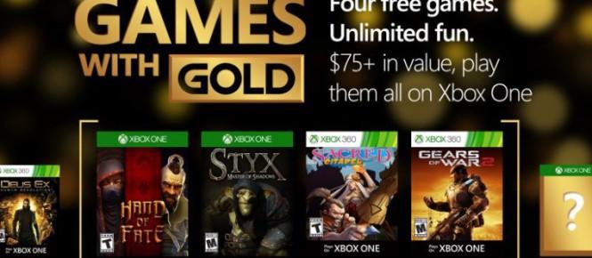 Les jeux de février du Games With Gold