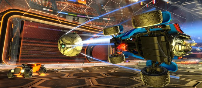 Rocket League refait à la sauce Halo