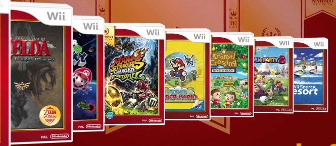 La Wii U se met aux Nintendo Selects