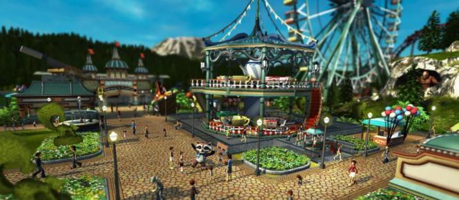 Un accès anticipé pour RollerCoaster Tycoon World