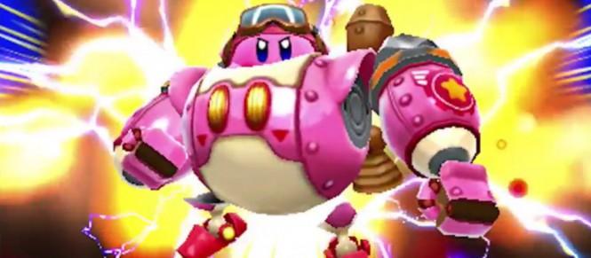 Kirby Planet Robobot détaille ses mini-jeux