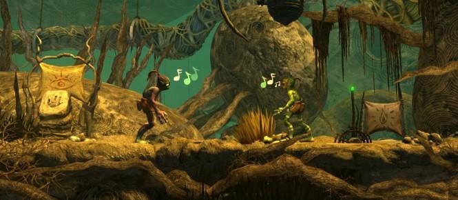 Oddworld New'n'Tasty en boite chez Sony