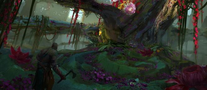 Une tonne d'artworks fuités pour God of War 4