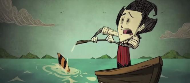 Don't Starve Shipwrecked bientôt sur PS4