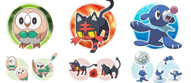 Pokémon Soleil et Lune : starters, légendaires et date de sortie