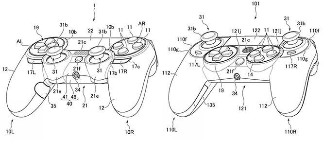 Sony brevette une nouvelle Dualshock 4
