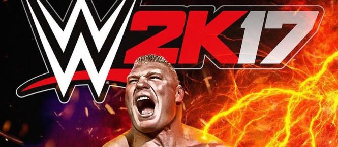 WWE 2K17 : Brock Lesnar en jaquette
