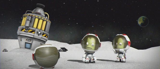Kerbal Space Program se précise sur consoles