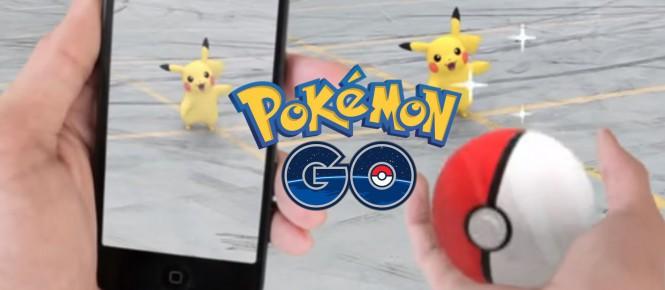 Pokémon GO commence à sortir