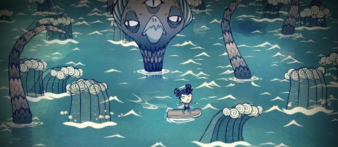 PS4 : Don't Starve Shipwrecked pour août