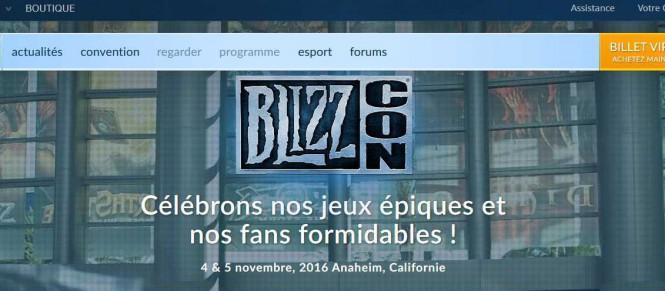 La BlizzCon 2016 se date