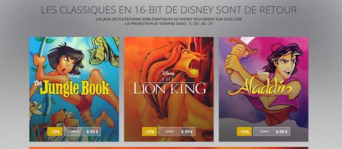 Du (vieux) Disney chez GOG