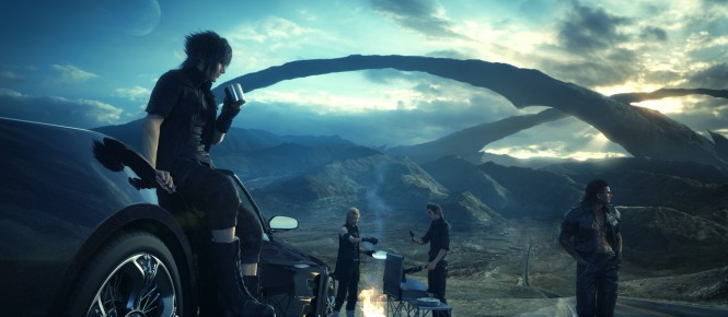 Final Fantasy XV en retard