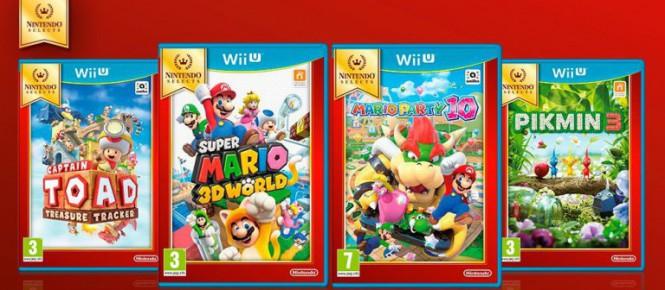 Wii U : 4 nouveaux jeux Nintendo Selects