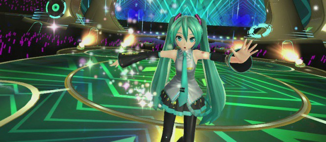 Hatsune Miku aussi en VR