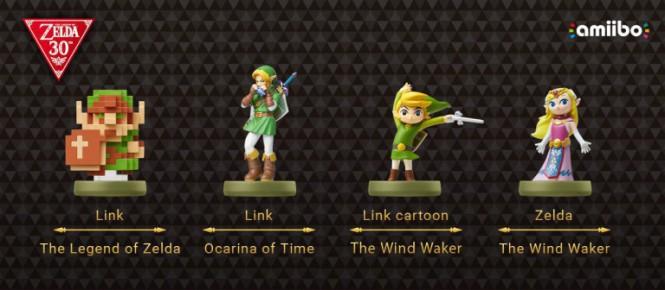 De nouveaux amiibo Zelda