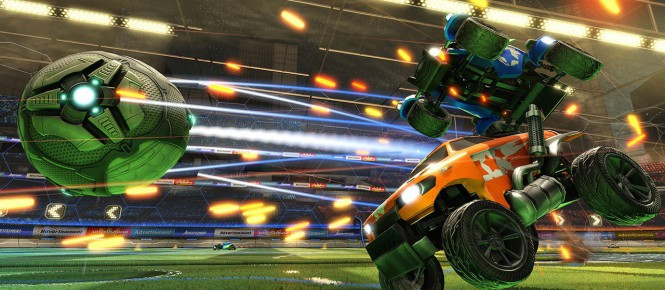 Rocket League lance son mode Rumble