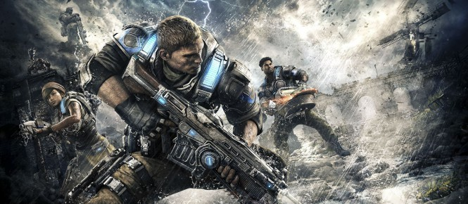 Gears of War 4 se met à jour sur One