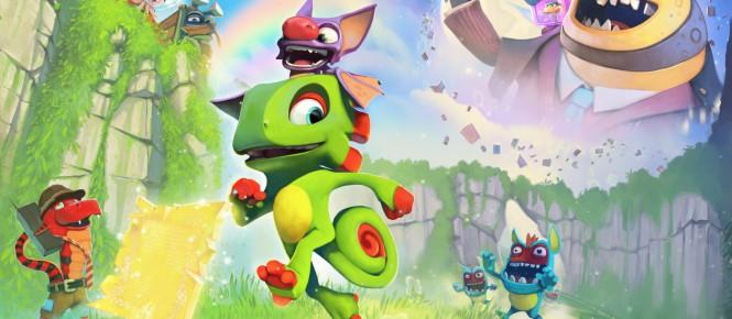 Yooka-Laylee : date de sortie et abandon sur Wii U