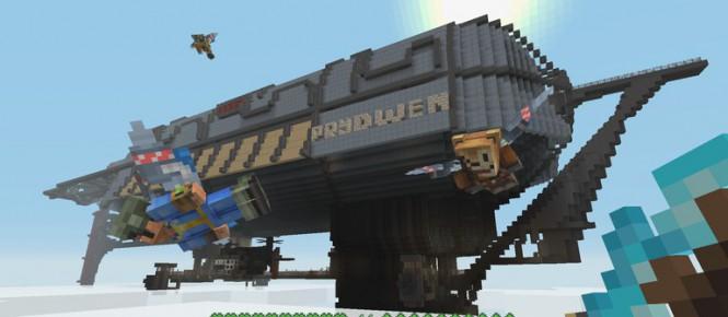 Fallout s'invite dans Minecraft