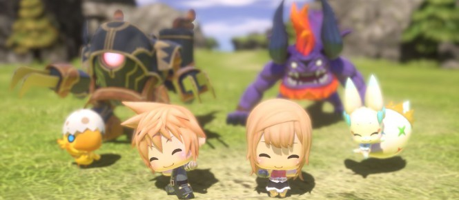 World of Final Fantasy : Sora arrive