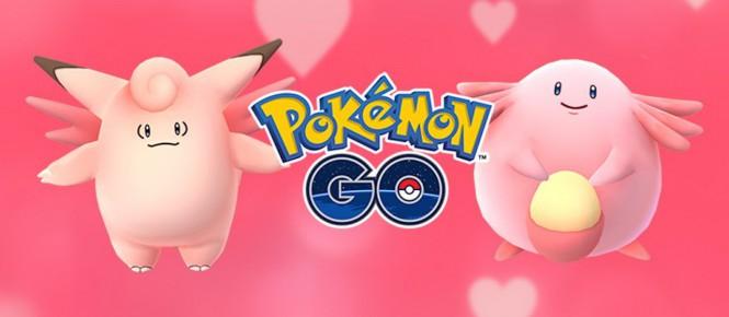 La St Valentin débarque dans Pokémon GO