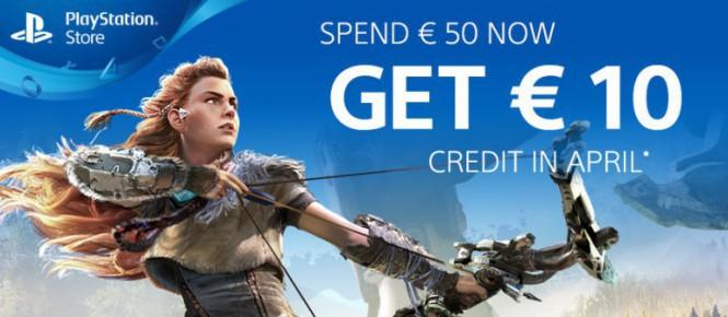 PSN : 10 euros offerts pour 50 euros dépensés