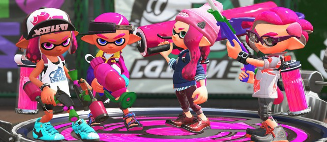 Switch : Splatoon 2 et Arms datés