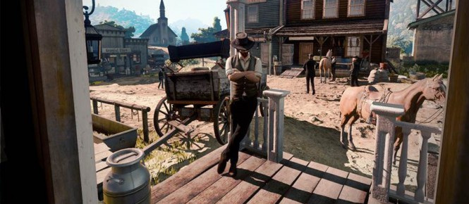 [MàJ] Serait-ce un screenshot de Red Dead Redemption 2 ?