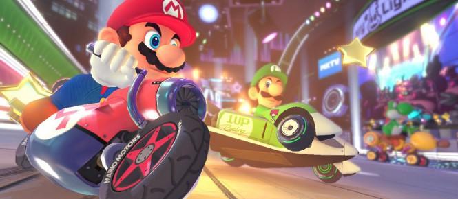 Mario Kart 8 Deluxe se patche