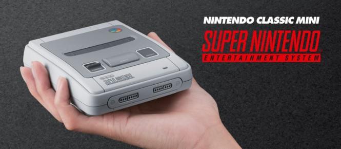 USA : préco fin août pour la Super NES Mini