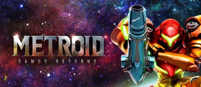 Une 3DS et du gameplay pour Metroid: Samus Returns