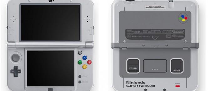 La New 3DS XL SNES Edition aussi en Europe