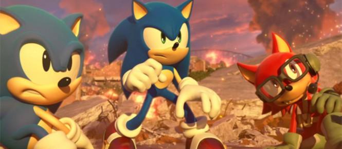 Début novembre pour Sonic Forces (+ édition collector)