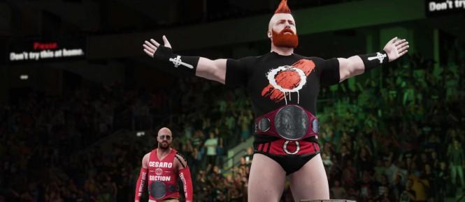 WWE 2K18 en même temps sur PC et consoles