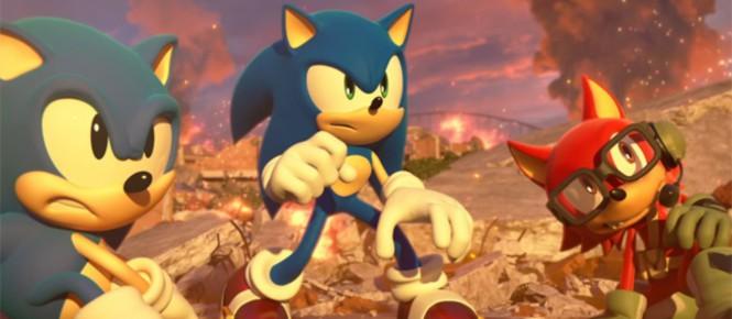 Sonic Forces à la peine sur PC