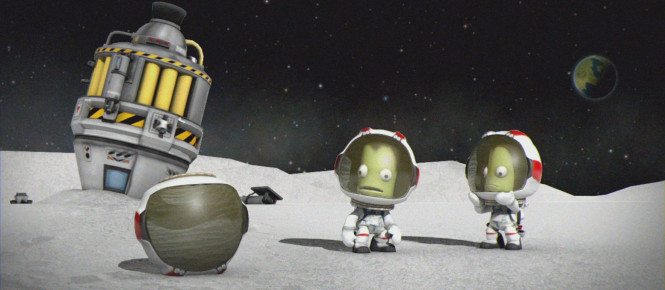 Une Enhanced Edition pour Kerbal Space Program