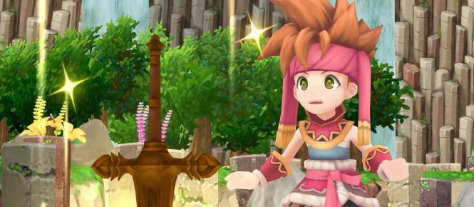 Secret of Mana en boîte sur PS4