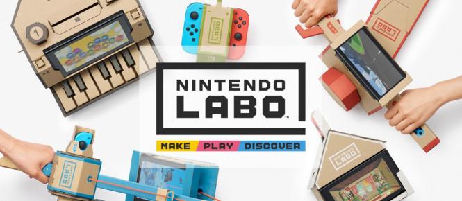 Nintendo dévoile le Nintendo Labo pour Switch