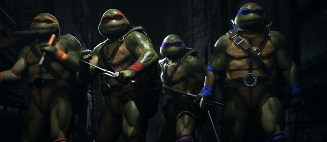 Injustice 2 : les Tortues Ninja en DLC