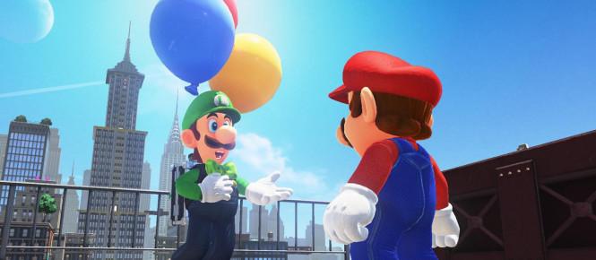 Grosse mise à jour pour Super Mario Odyssey