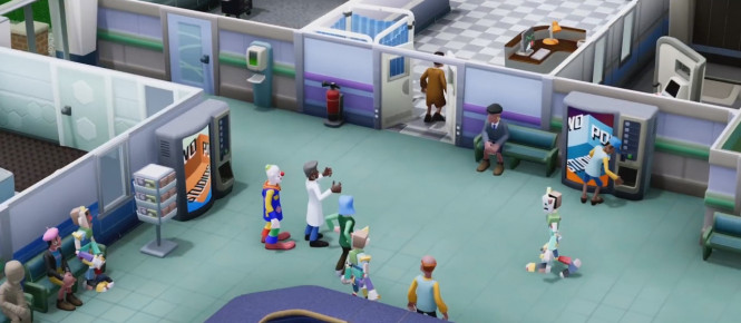 Du gameplay pour Two Point Hospital