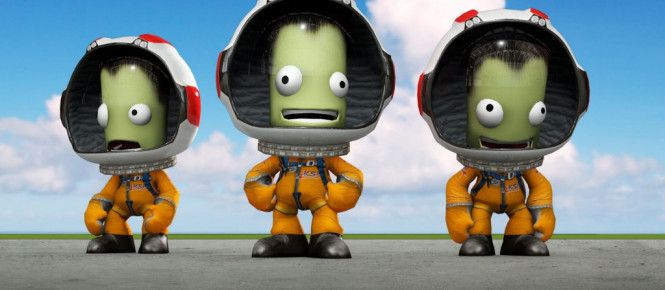 Kerbal Space Program passe en français