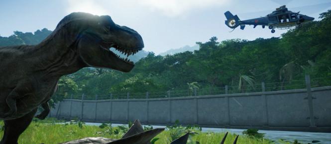 Jurassic World Evolution se date