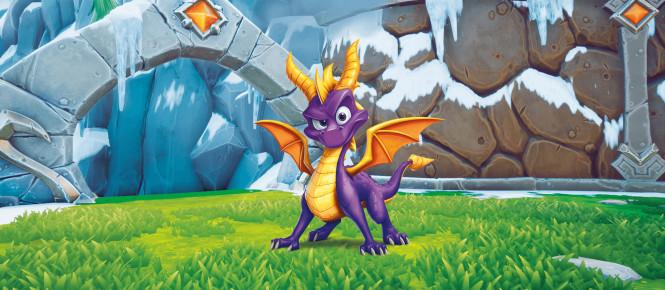 Spyro Reignited Trilogy se dévoile (un peu trop) avant l'heure