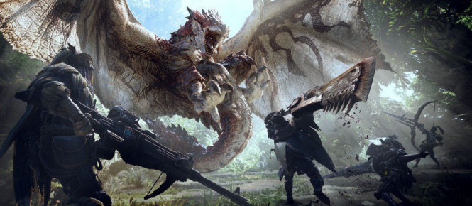 PC : Monster Hunter World daté et en avance