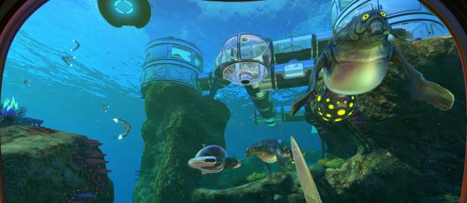 Subnautica bientôt disponible sur PS4