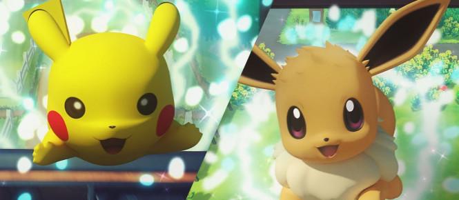 Pokémon Let's Go : un nouveau trailer