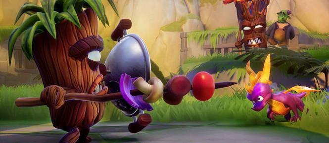 Spyro Reignited Trilogy dévoile son poids (version physique)