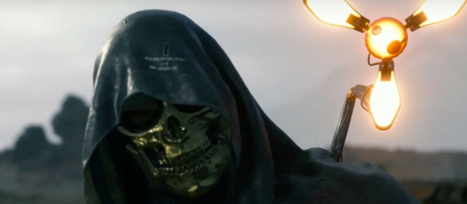 [TGS 2018] Death Stranding : l'homme au masque d'or